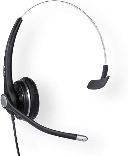 popular Snom lowest A100M popular VTech A100M Wired Headset Monaural wtih QD RJ9 outlet online sale