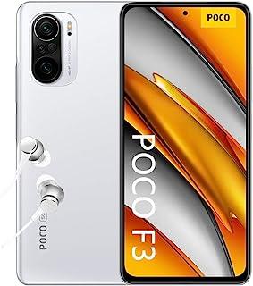 "POCO F3 5G - Smartphone 8+256GB, 6,67"" 120Hz AMOLED DotDisplay, Snapdragon 870, 48MP Triple Camera, 4520mAh, Arctic White..."