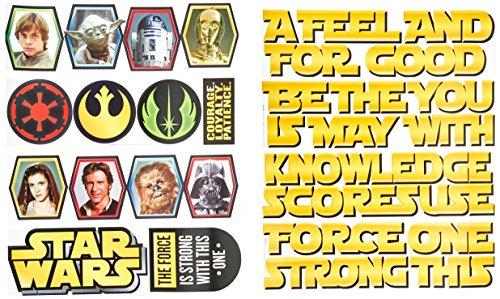 Eureka Teacher Supplies Star Wars Classroom Bulletin Board Set, 32 pcs