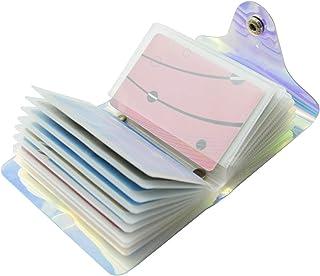 Laser Transparent Porta Carte di Credito per Donna Uomo 36 slot / 20 slot (36 Slot)