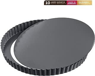 Kaiser 23 0063 7419 La Forme Plus Quiche pan, Black