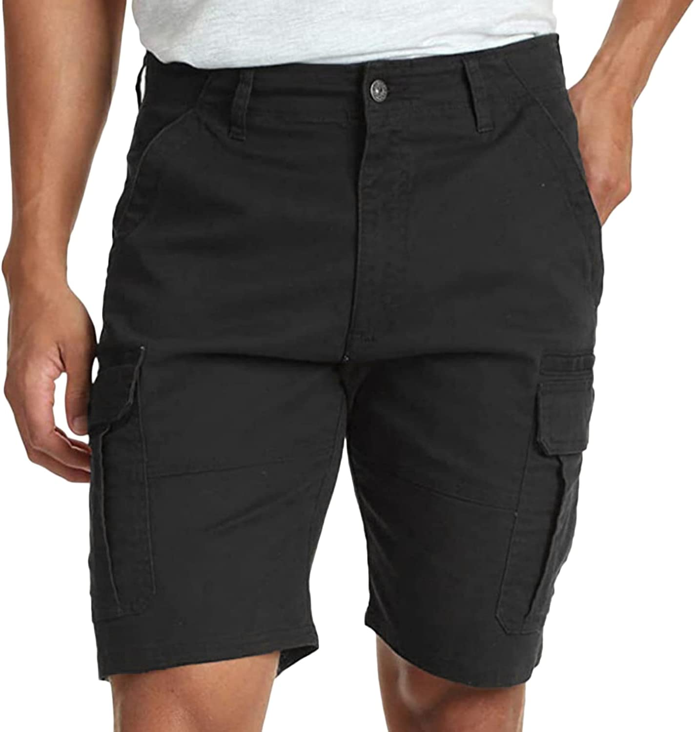 Workout Casual Cargo Shorts for New item Fishing Manufacturer OFFicial shop Multi-Pocket Men Outdoor