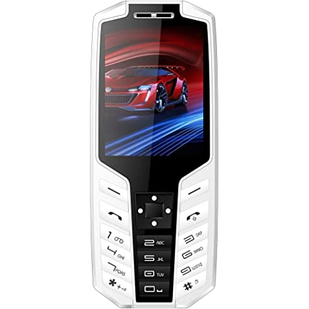 IKALL K50 2.8 Inch Big Colour Screen Multimedia Mobile (White Black)