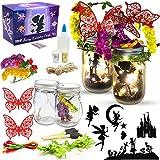 Fairy Lantern Craft Kit for Girls and Boys, Fairy Garden Kit, DIY Fairy Jar Night Lights Craft for Kids