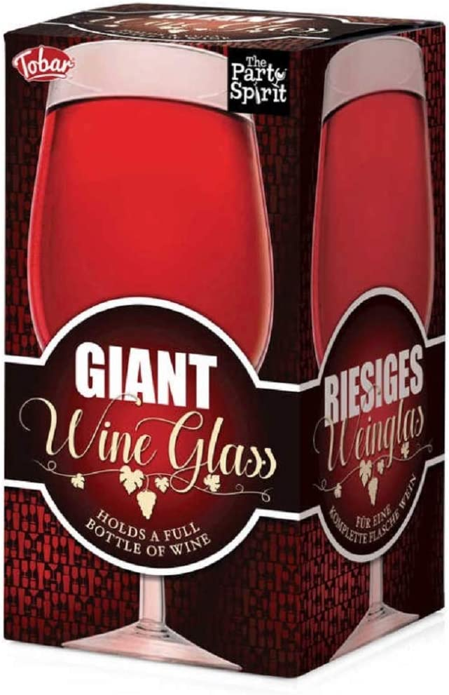 THE PARTY SPIRIT GIANT WINE GLASS