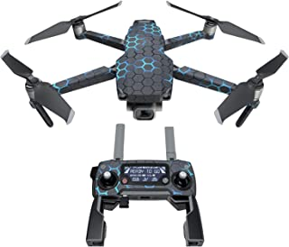 DJI Mavic 贴花套件 - 包括 1 个无人机/电池皮肤 + 控制器皮肤 Exo Neptune Mavic 2/Zoom DJIM2-EXONEP