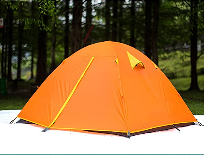 Kaxima Pression de colle aluminium tige anti-pluie tente de Camping