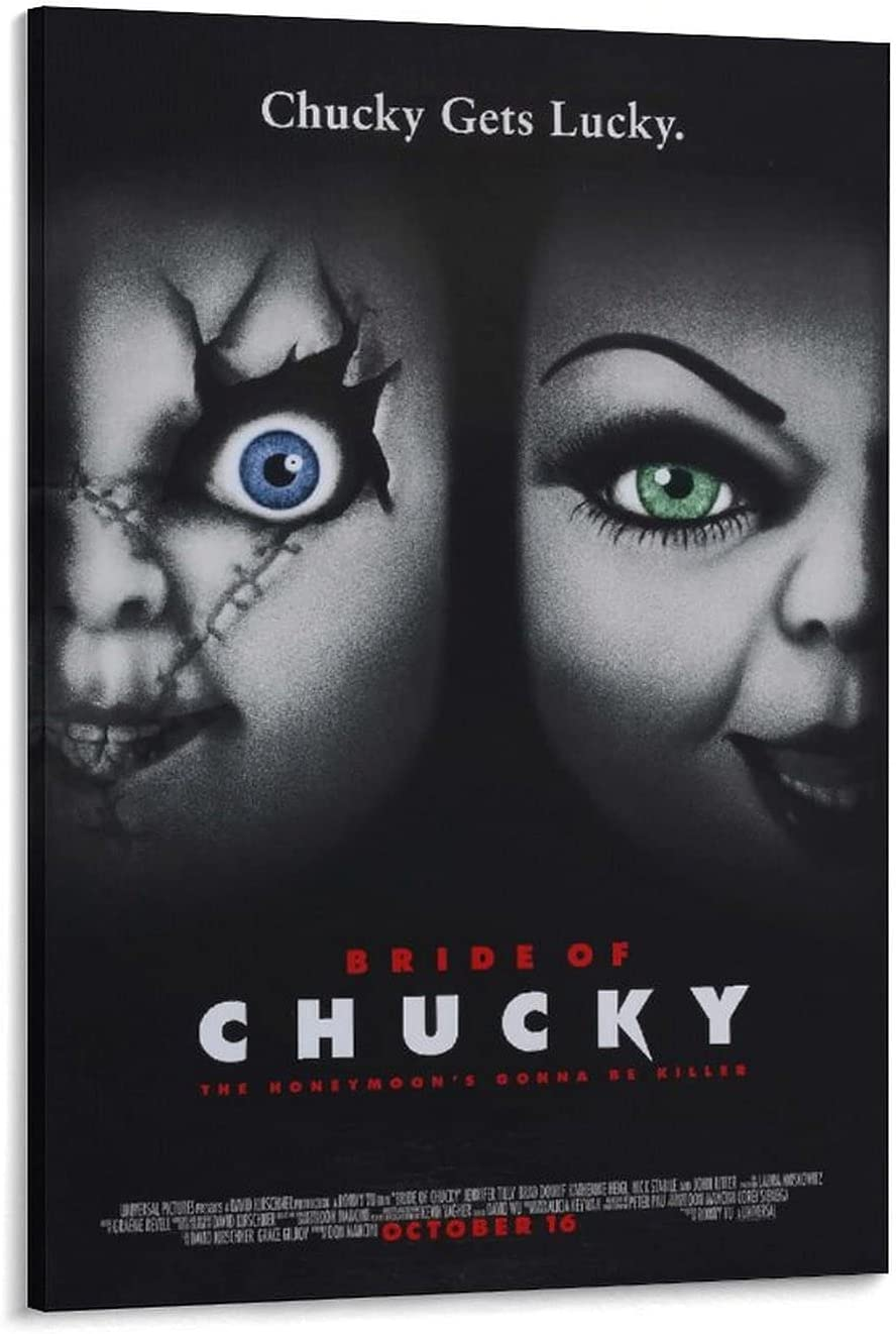 Movie Bride of Chucky 1998 Import Decorative Don't miss the campaign Paintin 1a Poster