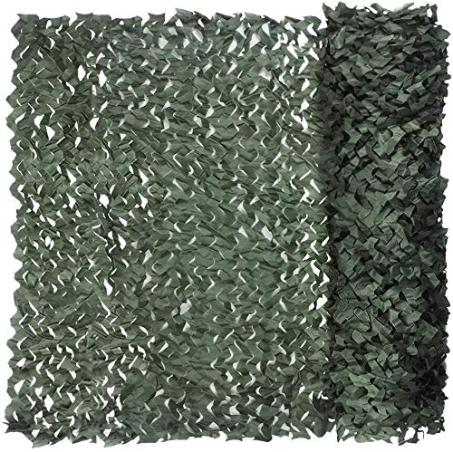 LISI Camouflage Great Netting Shade Net For Kids Dens Hide Great Sunshade Tent Camping Shooting Hunting (Color : Green, Size : 2 * 8M)