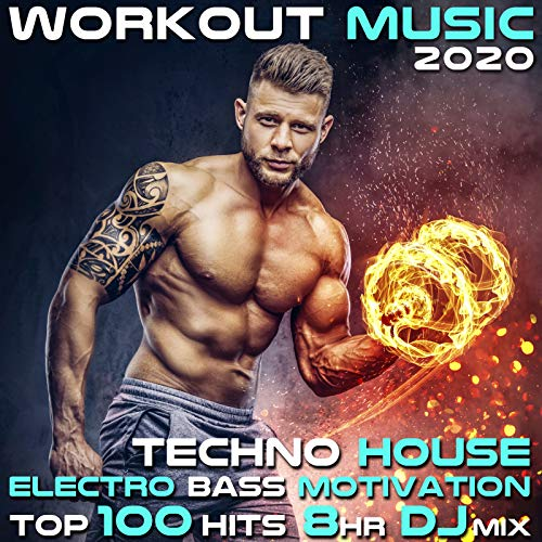 Workout Music 2020 Techno House Electro Bass Motivation Top 100 Hits 8 Hr DJ Mix