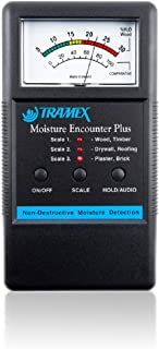 MEP Tramex Non Destructive Encounter Plus Moisture Meter, Measuring Range: 5% to 30% for wood and 0 to 100 Comparative for Other Materials