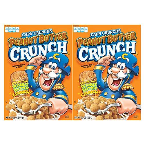 Cap'n Crunch's Peanut Butter Crunch 12.5oz (pack of 2)