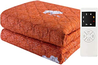 Electric Blanket - Single Single Controlled Heating Blanket - with overheat Protection 180 * 90cm Orange