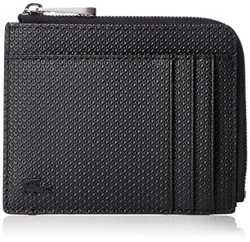 Lacoste NH2823CE, Accessoire de Voyage-Porte-Cartes en enveloppe Homme, Noir, Taille Unique