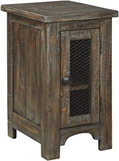 Signature Design by Ashley - Danell Ridge Chairside End Table, Brown