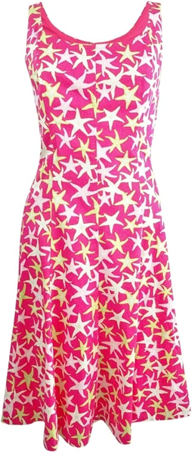 Pappagallo Women& 39;s Printed Fit & Flare Dress