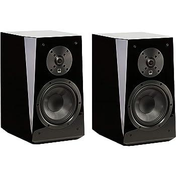 SVS Ultra Bookshelf Speaker (Pair) - Piano Gloss Black
