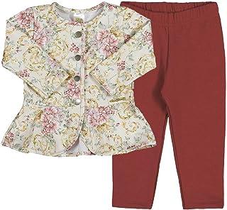 Conjunto Sublimado Floral Natural-Bebê Menina-Molecotton-35617-694