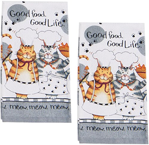Top 10 Best Selling List for kitchen towels with cats on them