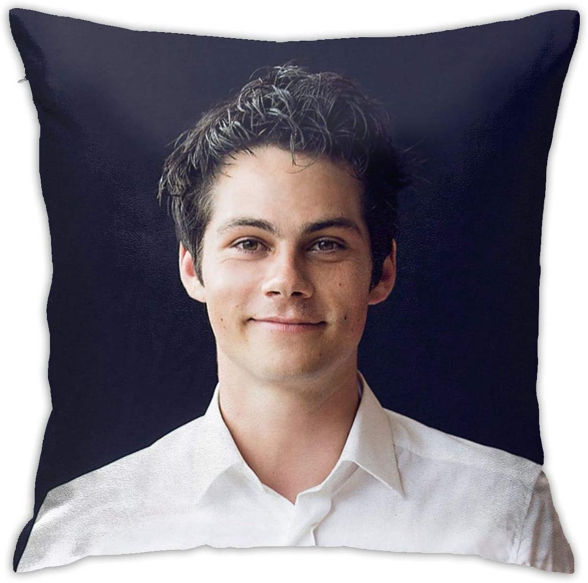 Junip Dylan O Brien Pillow Case Fashion Square Pillowcase Decor Throw Pillow Cover 18in18in Home Kitchen