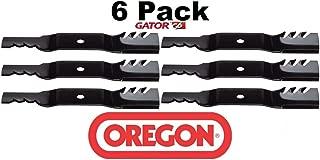 Oregon 6 Pack 396-812 G6 Gator Blade Fits Kubota K5617-34330 K5619-34350 54