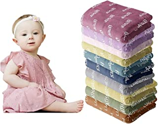 Personalized Baby Blankets for Girls with Name - Baby Boy Blankets Newborn Soft - Personalized Baby Blanket - Baby Name Bl...