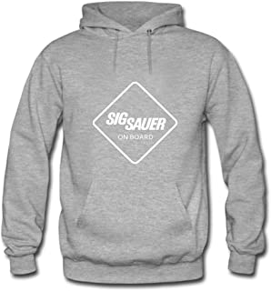 Sig Sauer on Board For mens Printed Sweatshirt Pullover Hoody