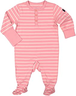 Polarn O. Pyret Mellow Stripe ECO Pajamas (Newborn)