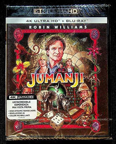 Blu-Ray - Jumanji (Blu-Ray 4K Ultra Hd+Blu-Ray) (1 Blu-ray)