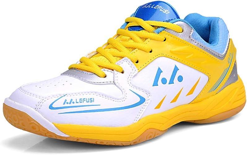 YPPDSD Chaussures de Badminton, Plusieurs mouvements Chaussures de Course entraîneur d'absorption des Chocs entraînement de Jogging et de Fitness,A,39
