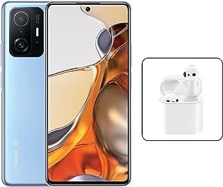 Xiaomi 11T Pro Dual SIM Amoled DotDisplay Celestial Blue 8GB RAM 256GB 5G+ Mi True Wireless Earphones 2S