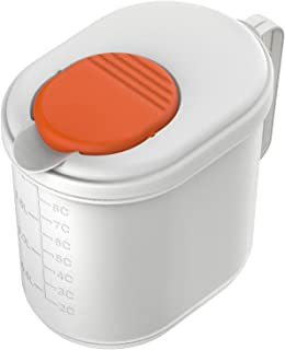 NutraMilk | Plastic Storage Container | Use For Nut Butter and Nut Milk Made with Nut Processor (2 Liter)