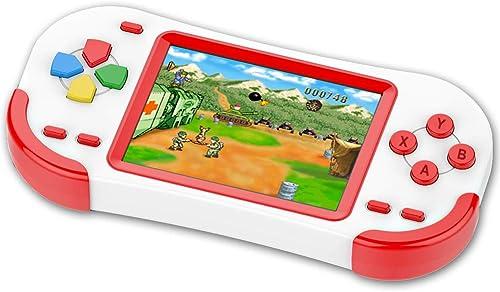 Console de Jeux Portable pour Enfants Adultes Construit en 220 avec 16bit Éducation Jeux Classiques Vidéo Plug & Play...