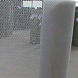 Red Protectora Red de Plástico, Hogar Seguro Al Aire Libre Escalera Balcón Niños Mascota Gato Perro Red de Protección Contra Caídas (Especificaciones: Espaciado de Cuadrícula 0.8CM) (color: Blanco)