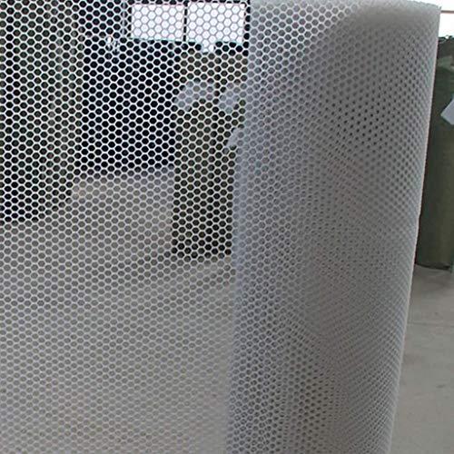 Seilnetz Deko Kindersicherheitsnetz, Hause Balkon Absturzsicherung Kunststoffnetz, Terrasse Garten Fensterbank Zaun (spezifikationen: Rasterabstand 2,5 cm) (Farbe: Weiß) Sicherheitsnetz für Treppe