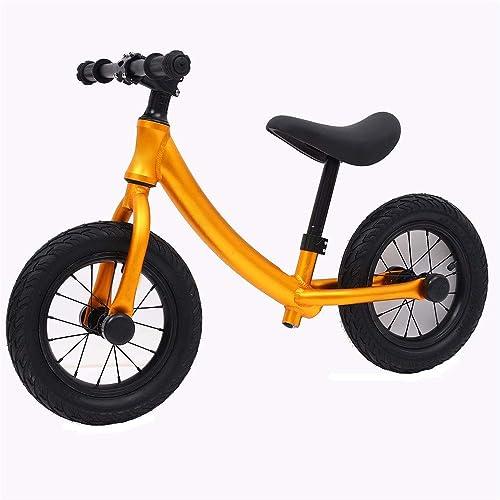 opciones a bajo precio Bicicleta para Niños de 2 a 8 8 8 años, niñas y Niños Bicicleta de equilibrio ultraligera de aluminio de 12  para Niños y Niños pequeños Sin pedal con neumáticos Neumáticos Manillar antideslizante Asiento  ventas en linea
