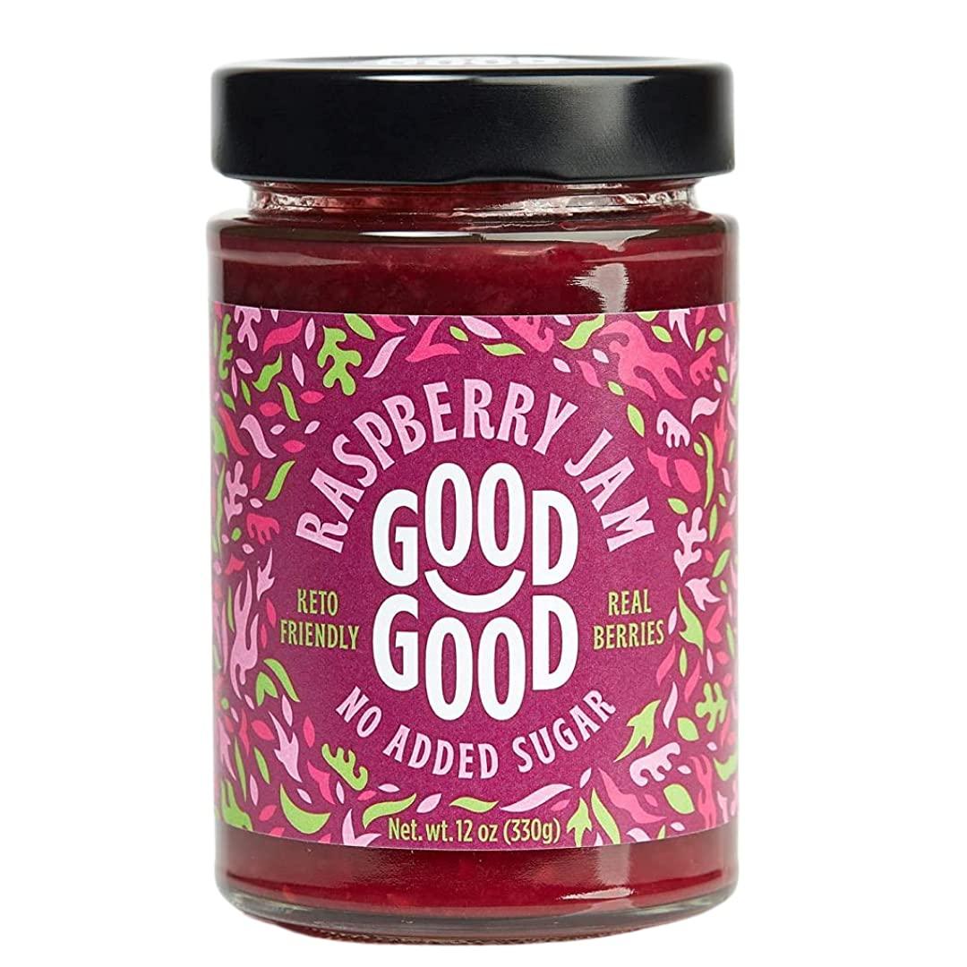 Sweet Raspberry Jam - Keto Friendly 12 S Added No g oz Baltimore Mall depot 330