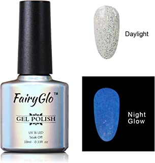 FairyGlo Night Glow Gel Nail Polish UV LED Soak Off Dramatic Gel Nail Art Party Carnival 10ml 6724