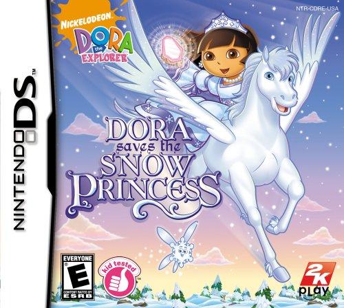 Dora a Explorer: Dora Salva a Princesa da Neve – Nintendo DS