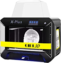 QIDI TECH 3D Printer, Large Size X-Plus Intelligent Industrial Grade 3D Printing with Nylon, Carbon Fiber, PC,High Precisi...