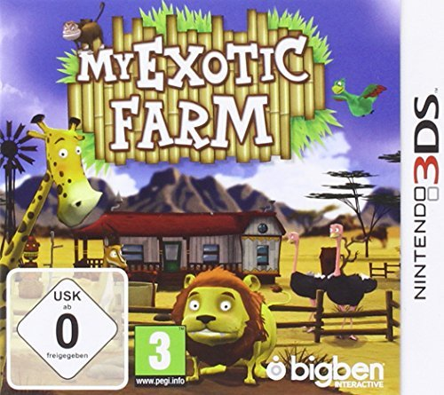 My Exotic Farm 3DS [German Version] by BigBen Interactive