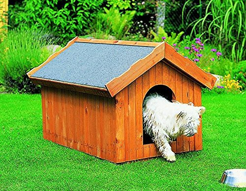 PROMADINO Hundehütte klein 85 x 60 x 66 cm Hütte 352/3 wärmeisoliert