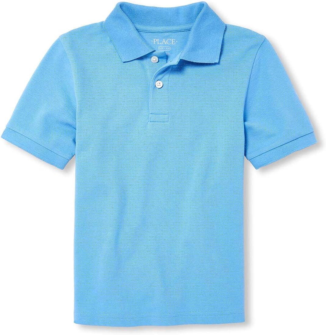 The Children's Place Big Boys' Short Sleeve Polos