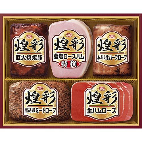 丸大食品 煌彩ハムギフト MV-455【お肉 晩ごはん 詰め合わせ つめあわせ 贅沢 ごちそう おいしい 美味しい うまい お取り寄せ グルメ 】