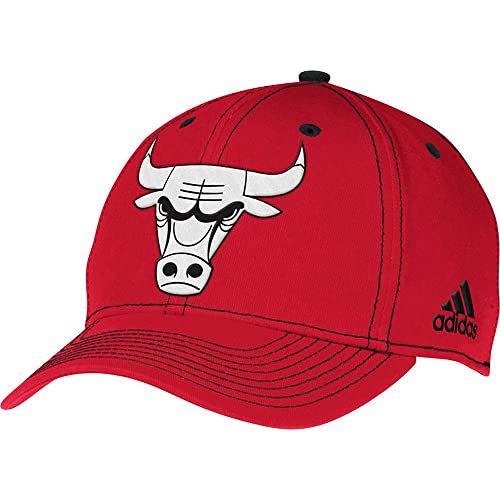 2db936fd6b1 Chicago Bulls Structured Flex-Fitted Hat by Adidas Select Flex Size  Large    X