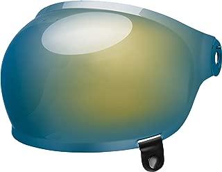 Bell Bullitt Bubble Shield, Gold Iridium - Black Tab
