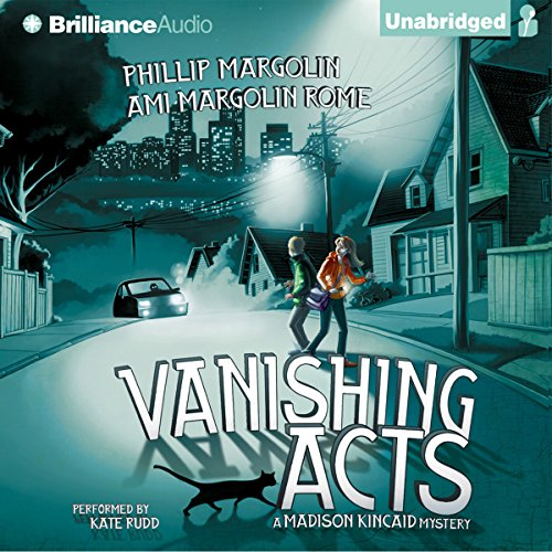 Vanishing Acts audiobook cover art