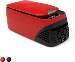 CIGREEN Portable Refrigerator, 8.5 Quart (8 Liter) Mini Fridge Freezer, Heating (-0.4.?~131?) with DC & AC, Compressor Electric Cooler for Camping, Travelling, Fishing, Outdoor and Home Use, BF-8H-R