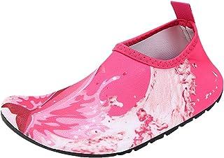 7ccb773f3d Qimaoo Chaussures de Plage pour Enfants Filles Garçons, Chaussures d'eau  Antidérapants pour Piscine