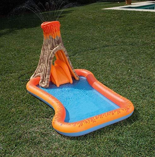 XZQ Piscina, Inflable Marina Ball Pool Juego Infantil Piscina, Piscina de Arena Gruesa, 150 CM Plegable Durable de bañera for Adultos